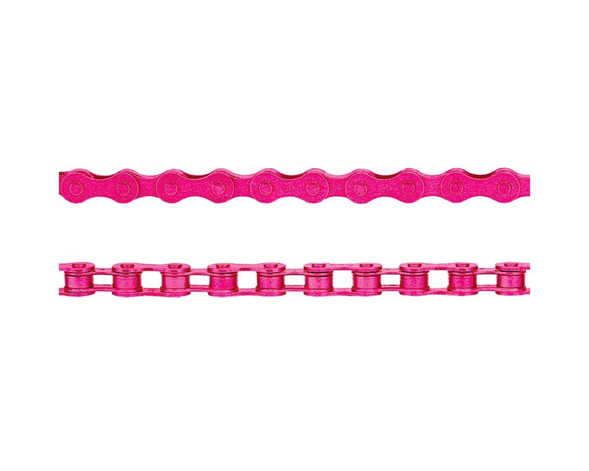 "KMC Z410 Chain (1/8"") (112 Links) (Pink)"