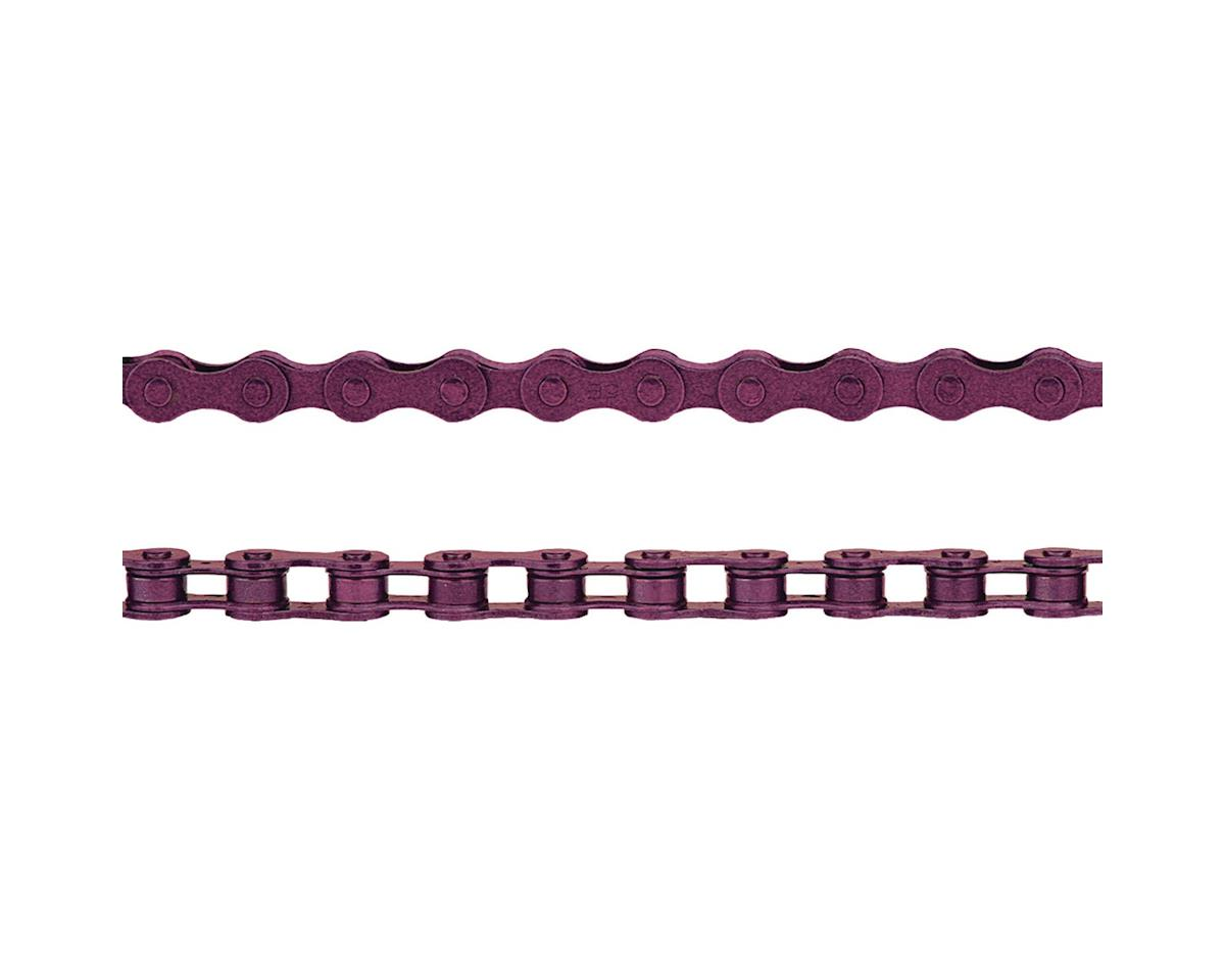 "KMC Z410 Chain (1/8"") (112 Links) (Purple)"