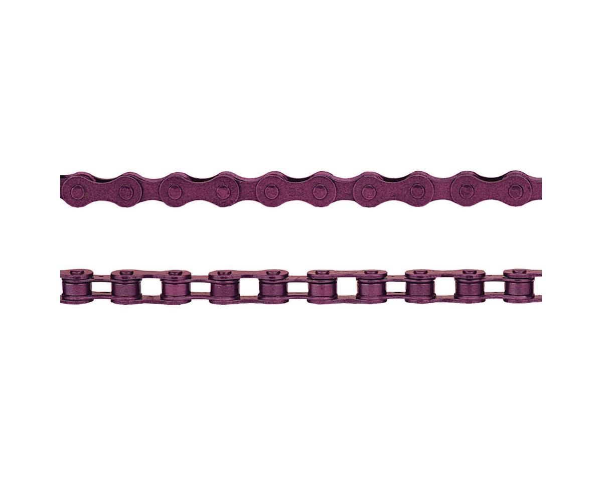 """KMC Z410 Chain (1/8"""") (112 Links) (Purple)"""
