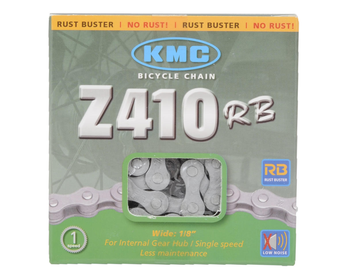 KMC Z410RB Rust Buster Chain (Silver) (112 Link)
