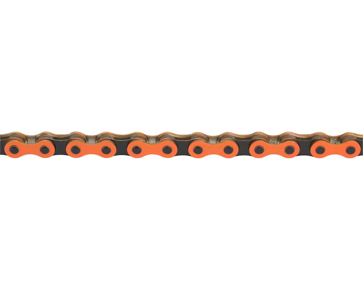 """Z510H Chain: 1/8"""", 112 Links, Orange/Black"""