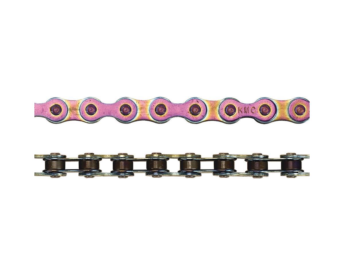 """KMC Z510HX Heavy Duty Chain - Single Speed 1/2"""" x 1/8"""", 112 Links, Neo Chrome"""
