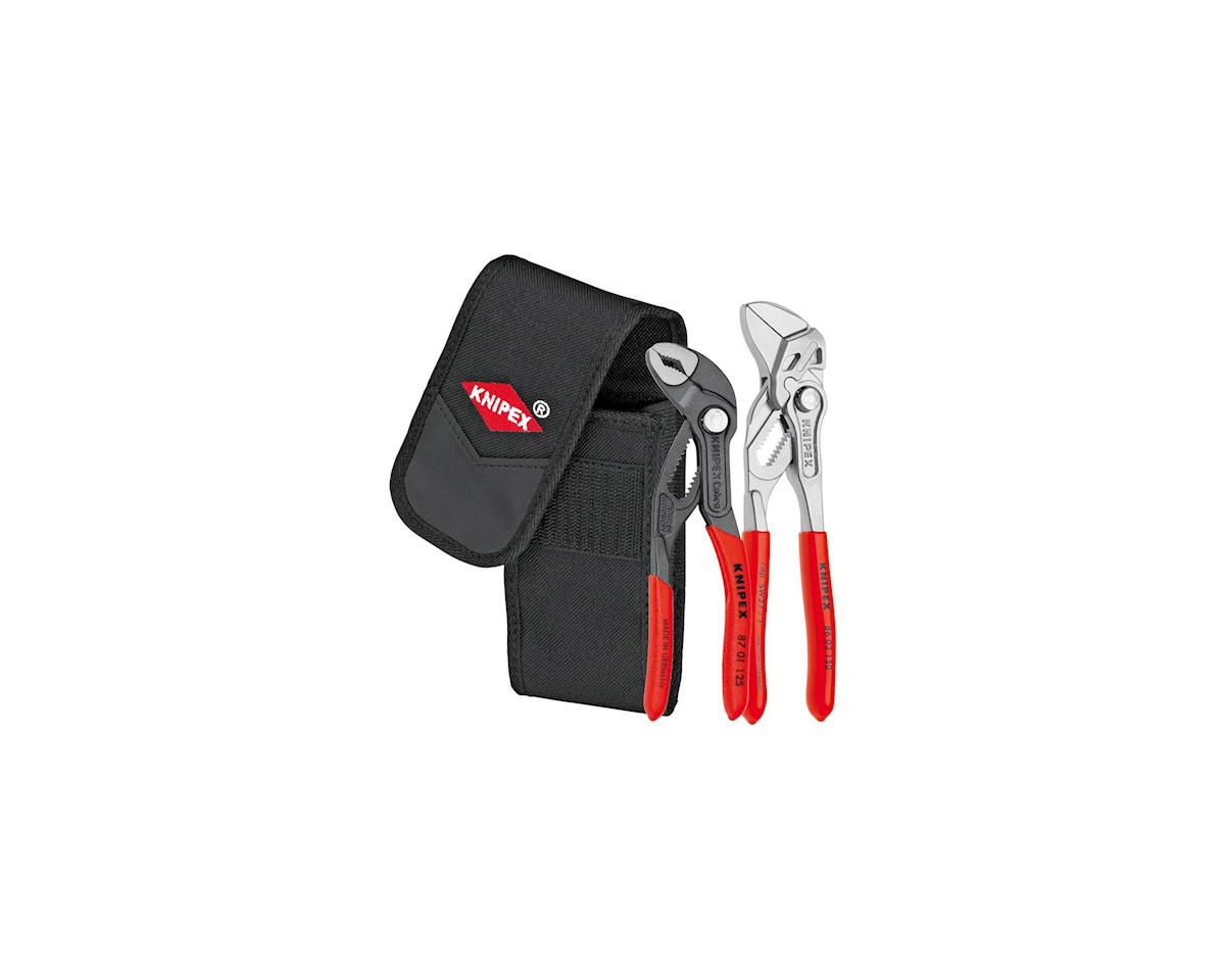 Knipex Mini Pliers Set And Belt Pouch