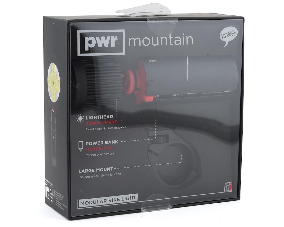 Knog PWR 2000 Lumen Mountain Light Set (Black)