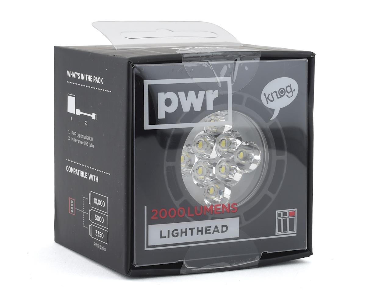 Knog PWR 2000 Lumen LightHead (Black)