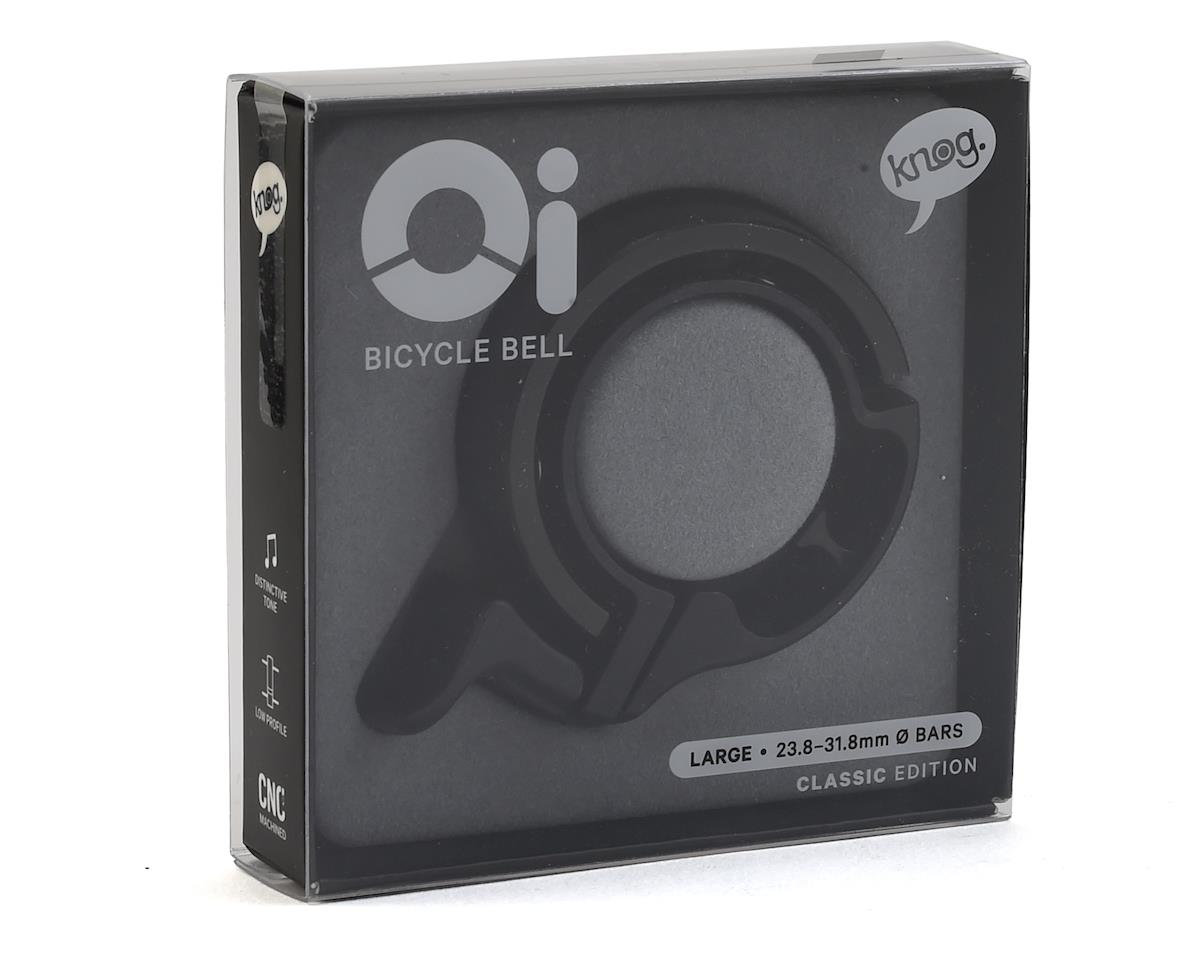 Knog Oi Bike Bell (Black) (L)