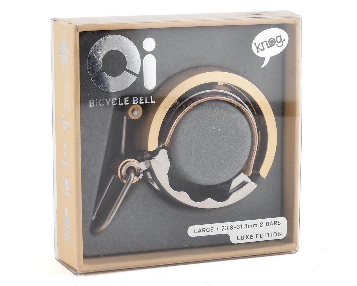 Knog Oi Bell Luxe (Large) (Brass)