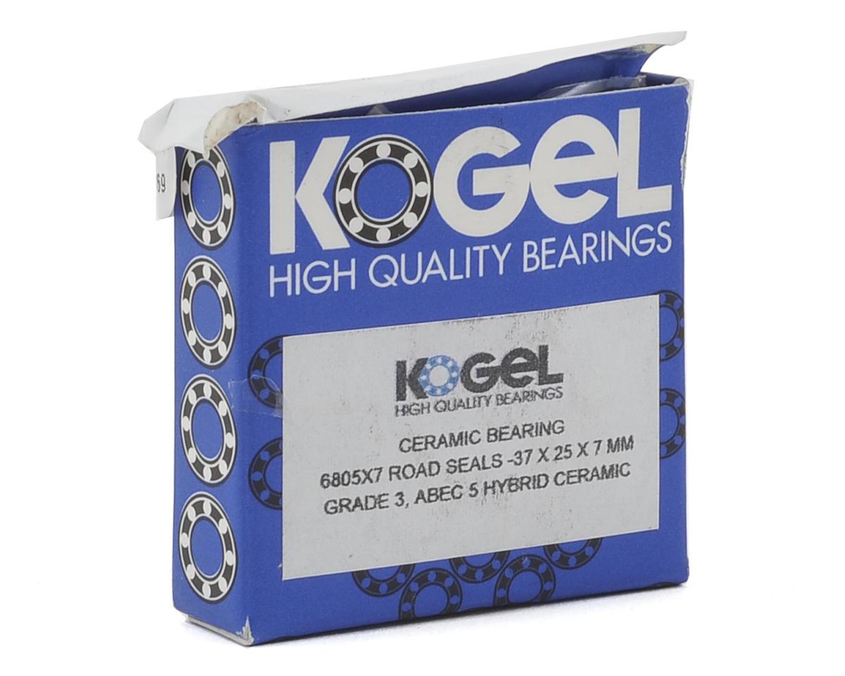 Kogel Bearings Ceramic Hybrid Bearing (Road) (25x37x7) (Single)