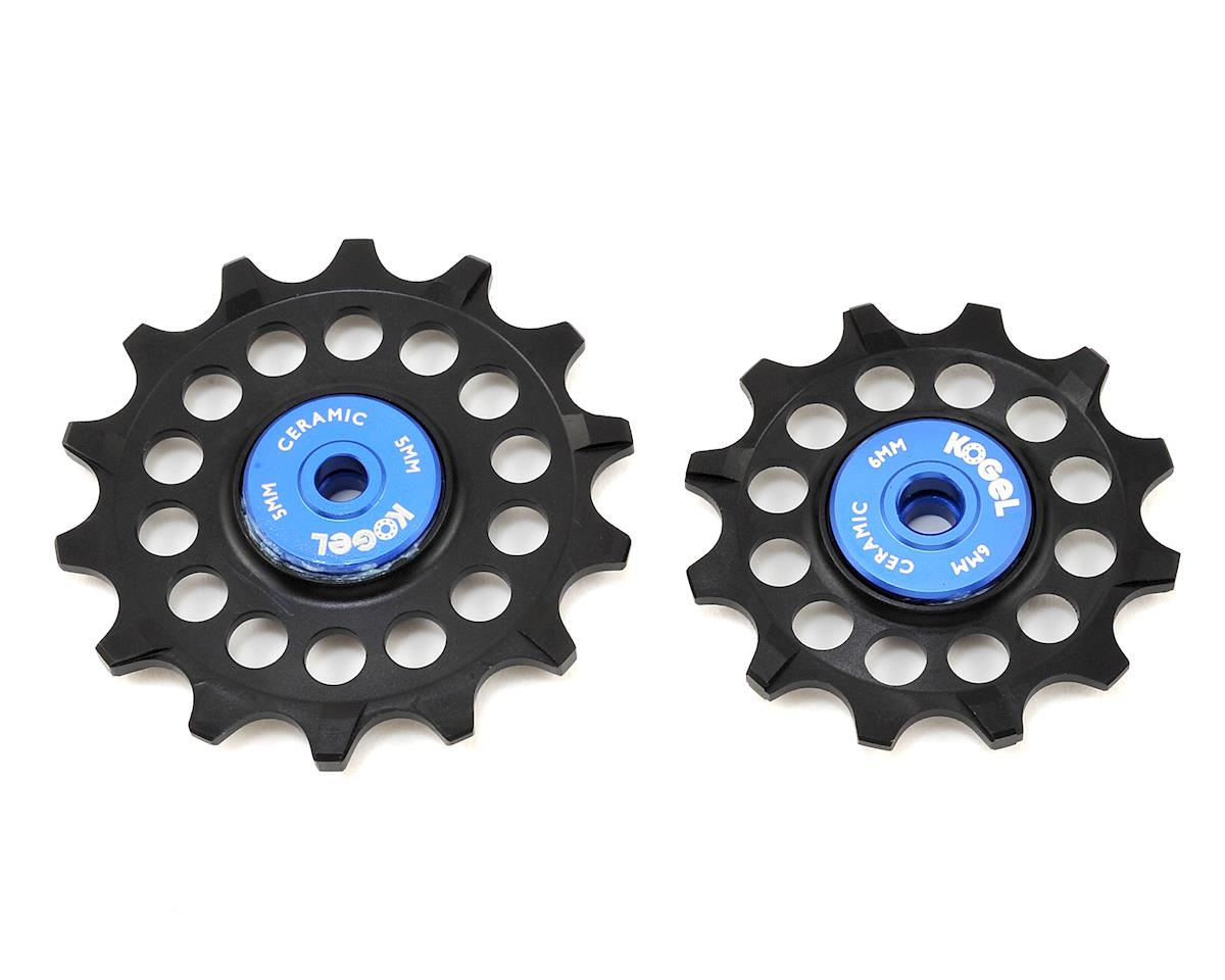Hybrid Ceramic Derailleur Pulleys (SRAM Eagle) (12/14 Tooth)