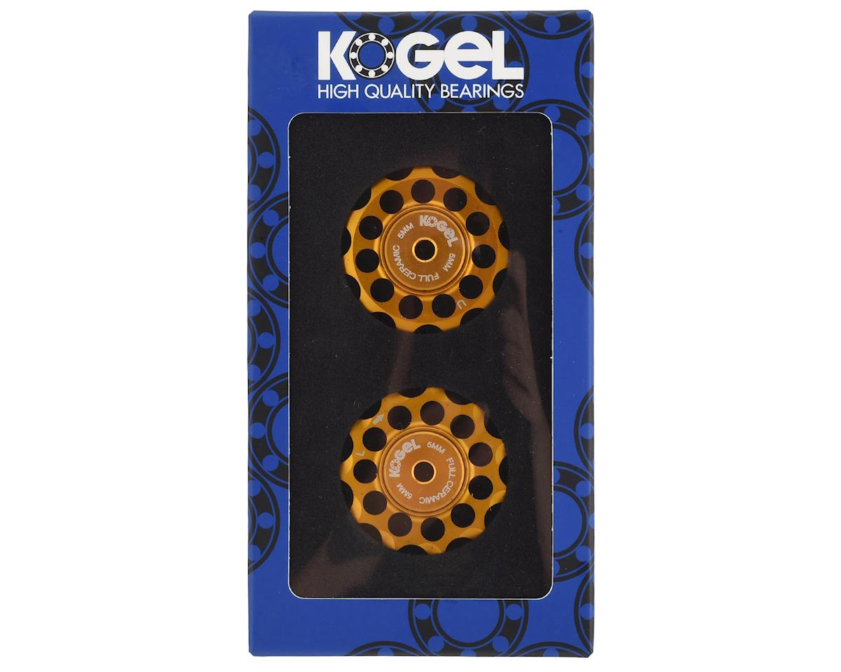 Kogel Bearings 'Not for Instagram' Derailleur Pulleys (Gold) (11T)