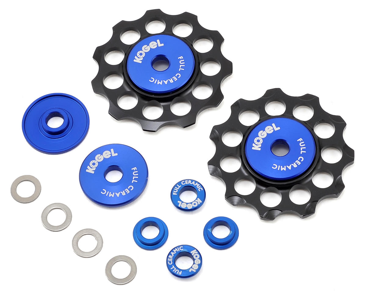 """Not for Instagram"" Full Ceramic Derailleur Pulleys (10/11sp)"