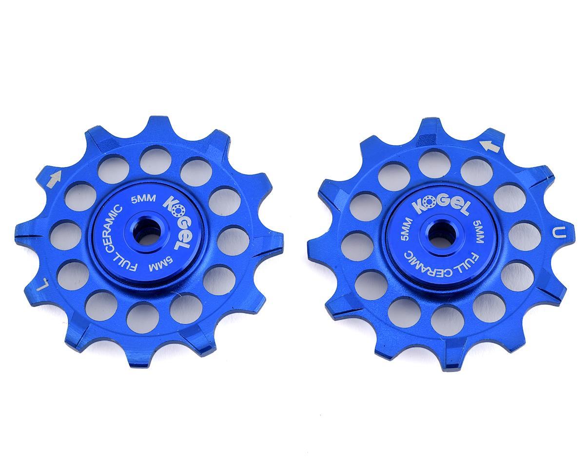 Kogel Bearings Narrow Wide Pulleys w/ Full Ceramic Bearings (Blue) (12T)