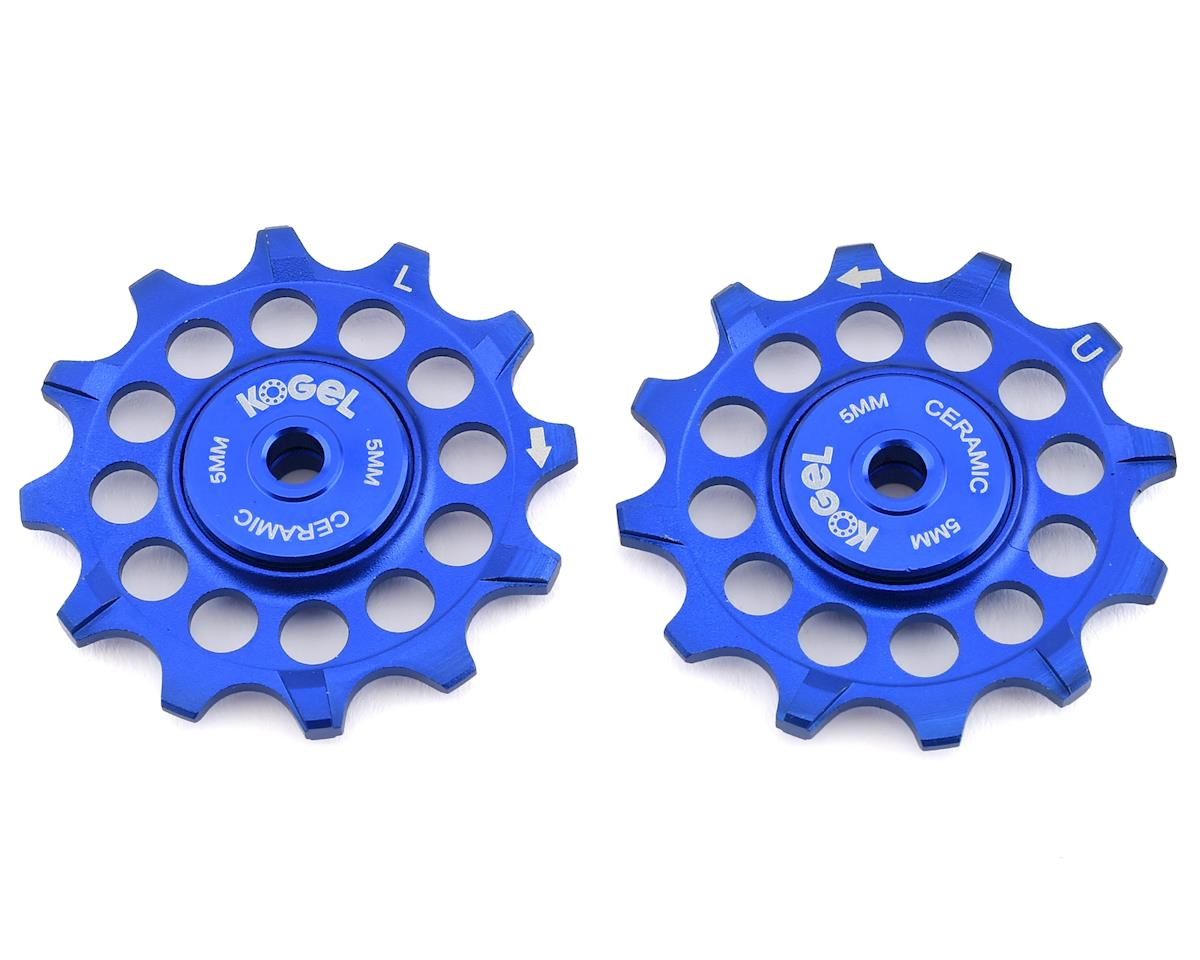 Kogel Bearings Narrow Wide Pulleys w/ Cross Seals (Blue) (12T)
