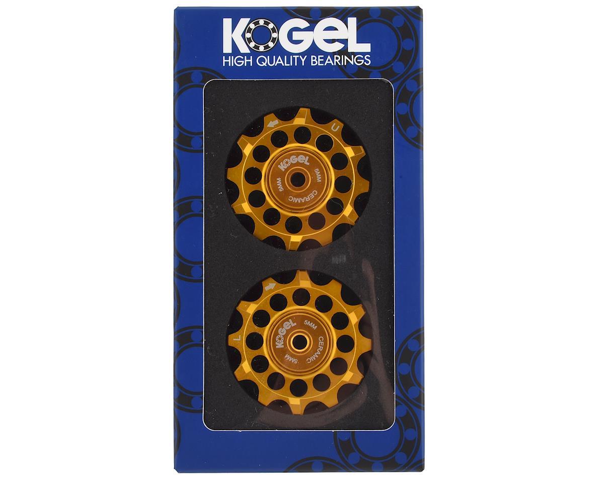 Kogel Bearings Narrow Wide Pulleys w/ Cross Seals (Gold) (12T)