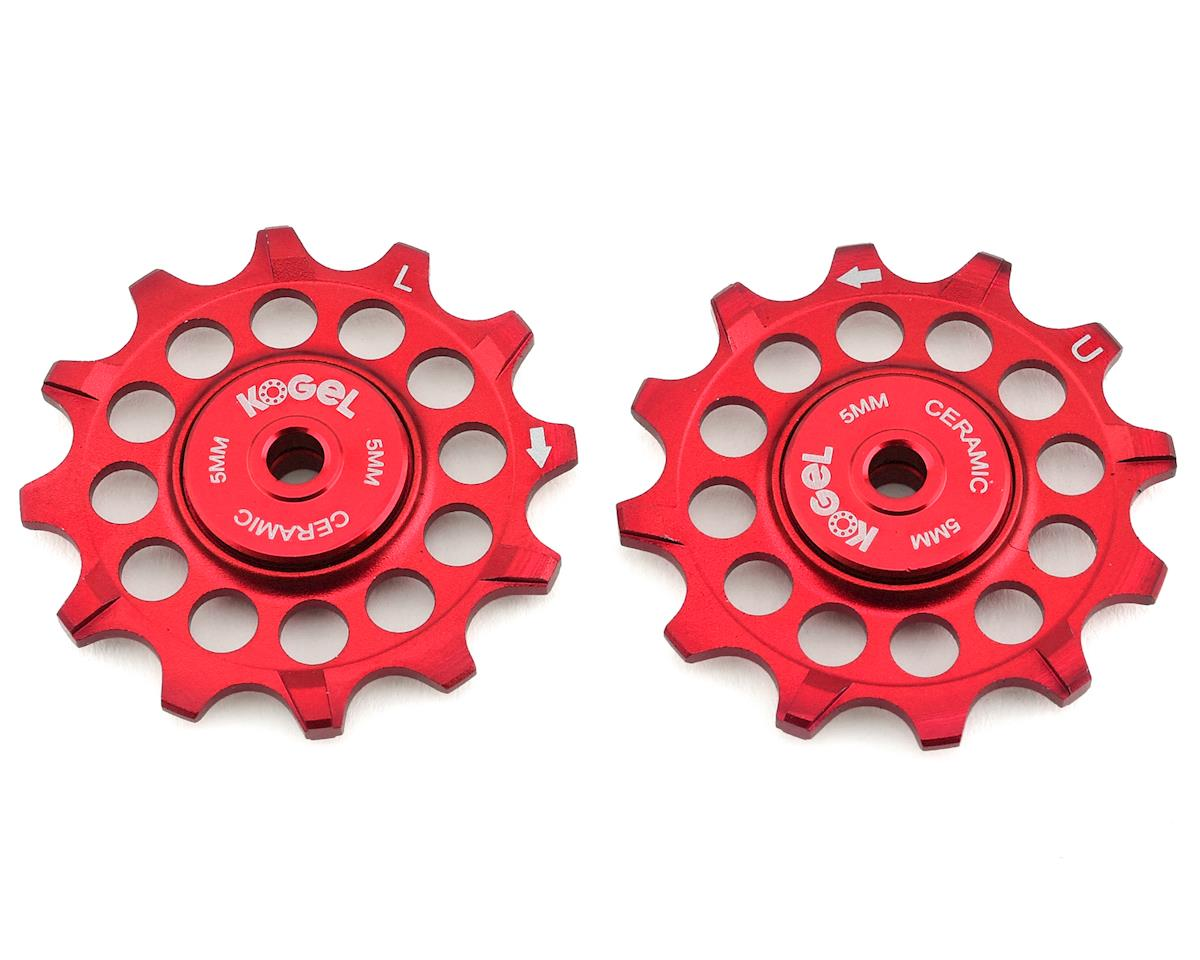 Kogel Bearings Narrow Wide Pulleys w/ Cross Seals (Red) (12T)