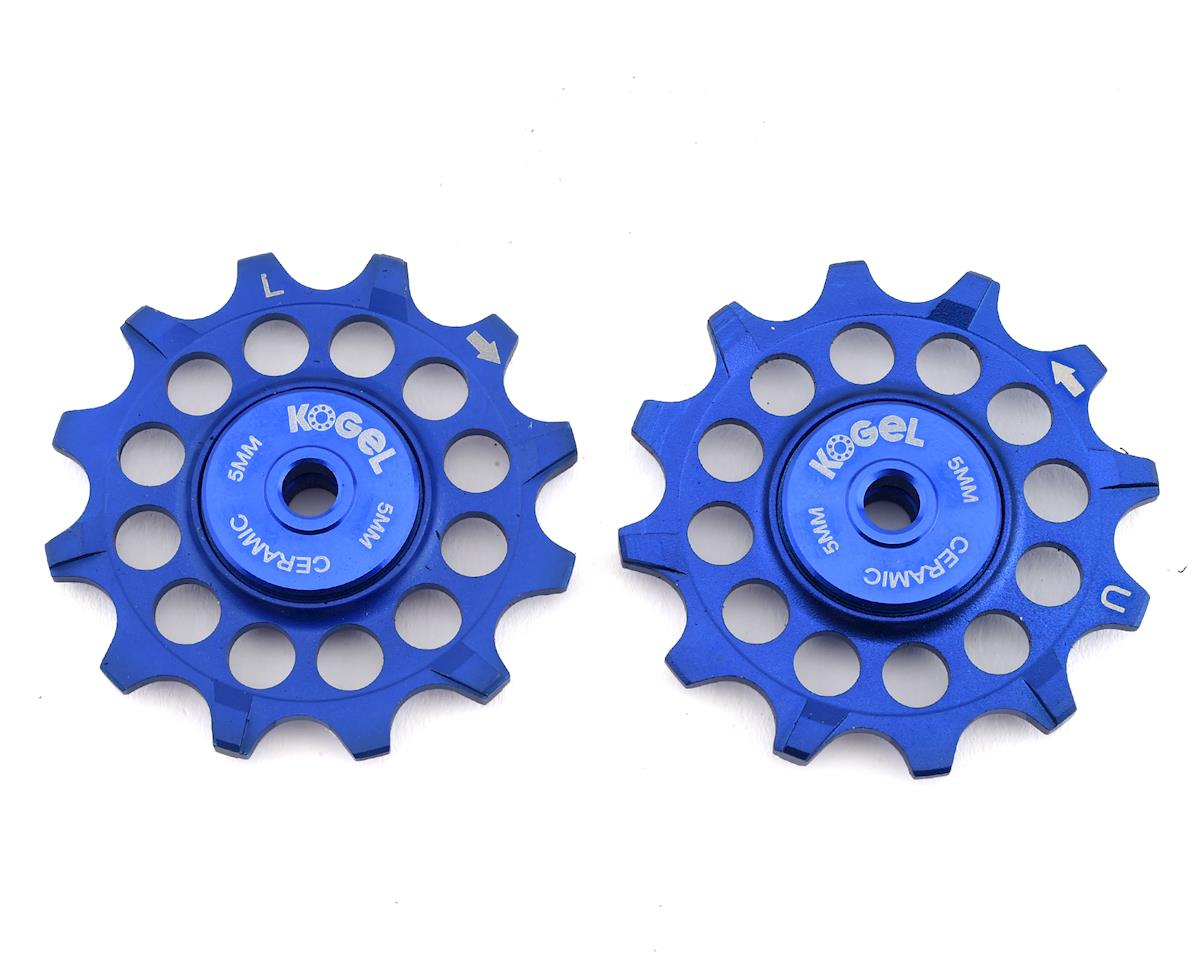 Kogel Bearings Narrow-Wide Pulleys w/ Road Seals (Blue) (12T)