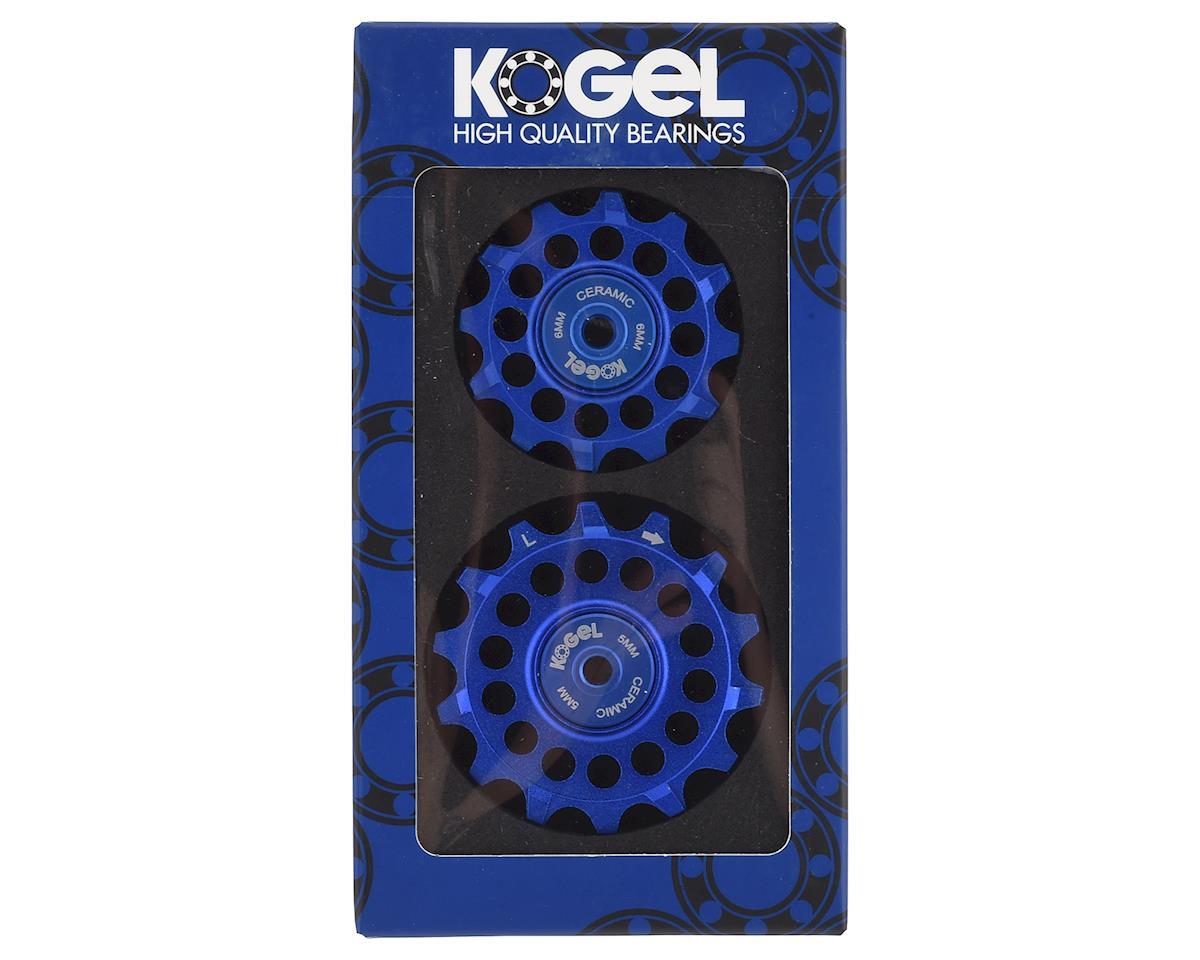 Kogel Bearings Oversized Pulleys w/ Cross Seal (Blue)