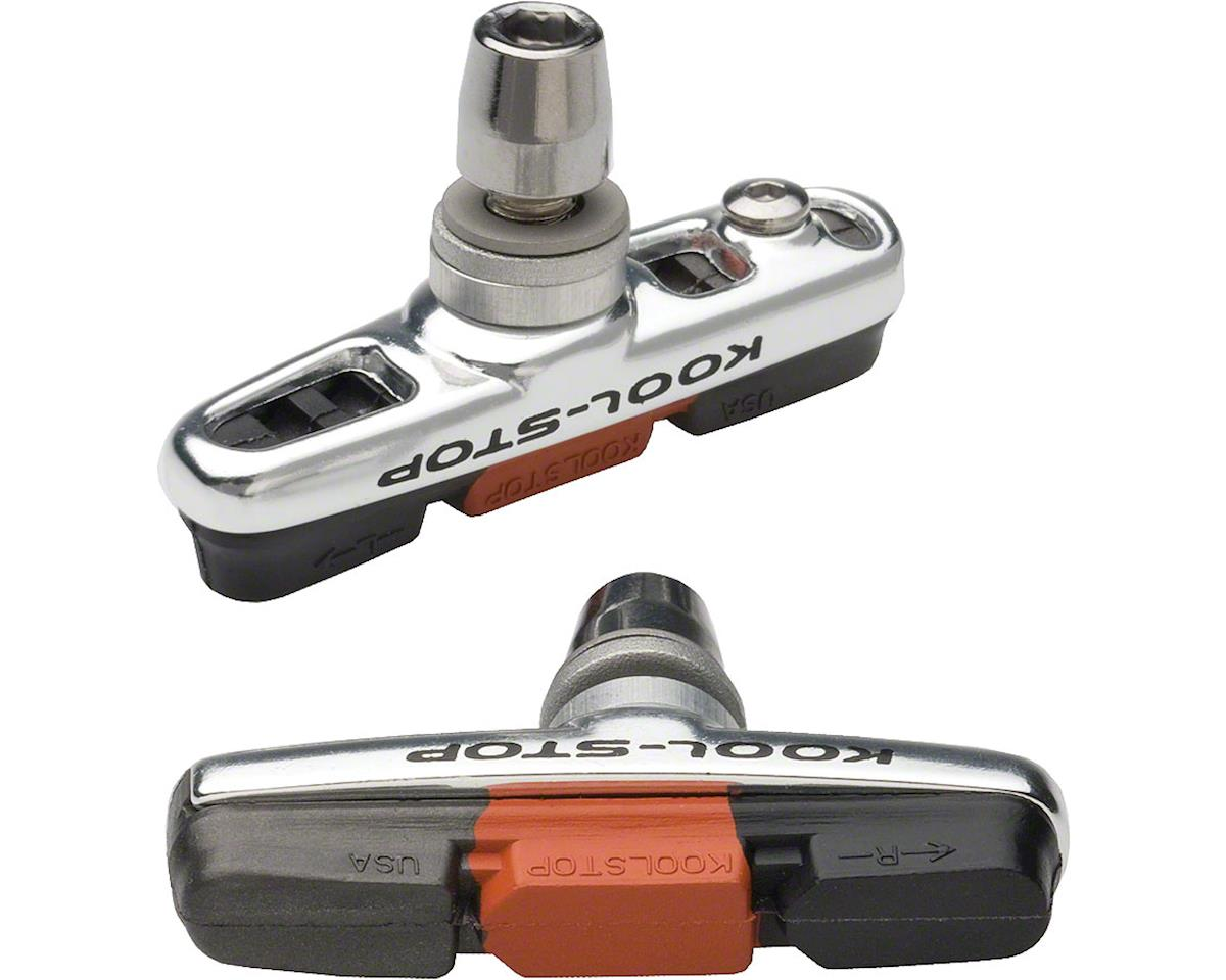 Kool Stop Kool-Stop Cross Brake Pad: Threaded post, Triple Compound