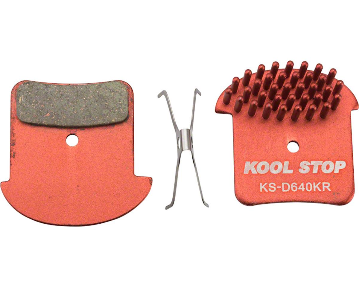 Kool Stop Kool-Stop Aero-Kool Disc Brake Pad: Fits Shimano Zee, Saint M820