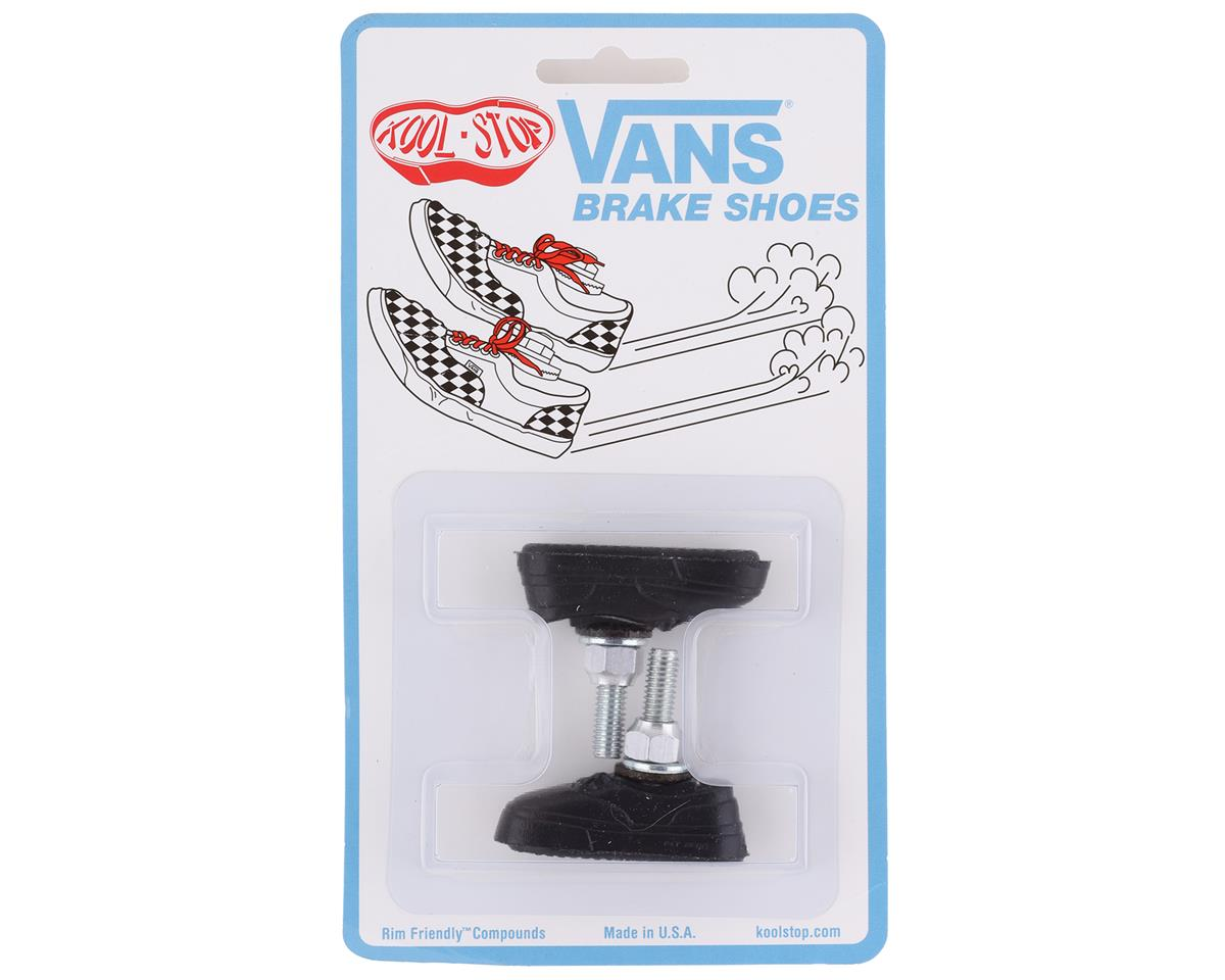 Kool-Stop Vans Brake Pad: Pair, Black