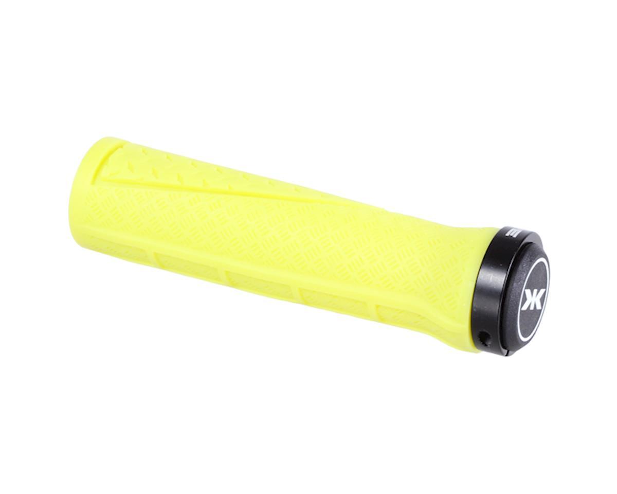 Contour Lock-on grips, bile yellow