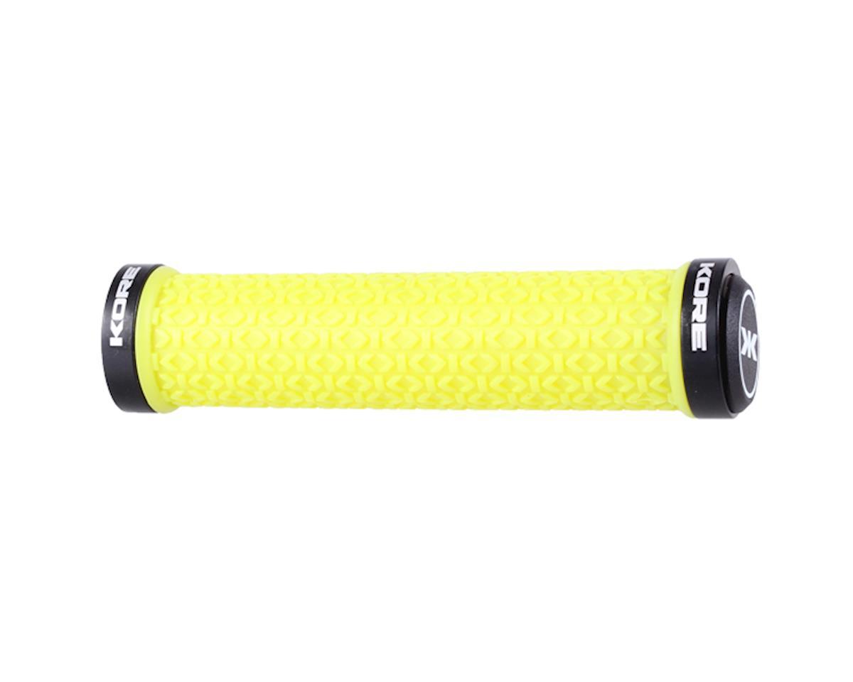Ikon Lock-on grips, bile yellow