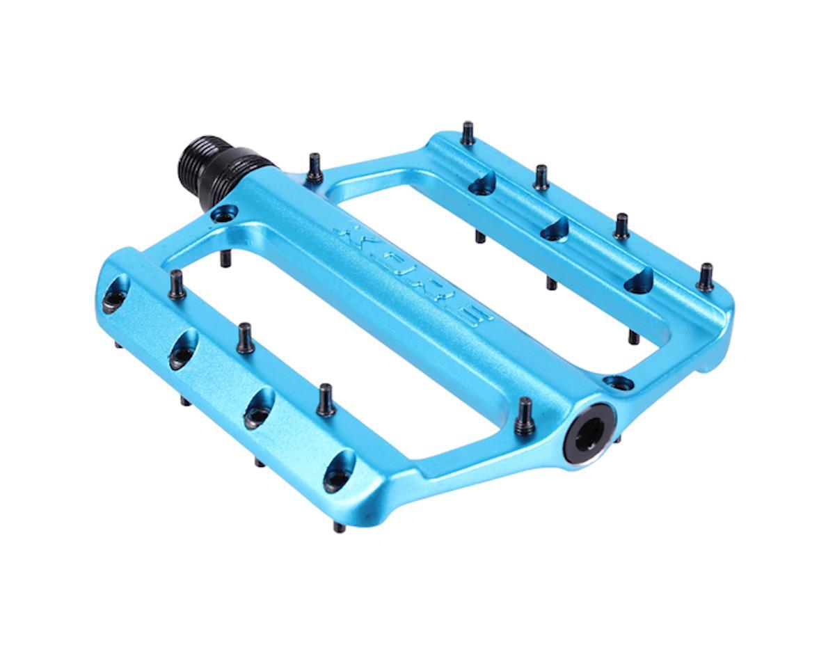 Rivera alloy platform pedals, electric blue
