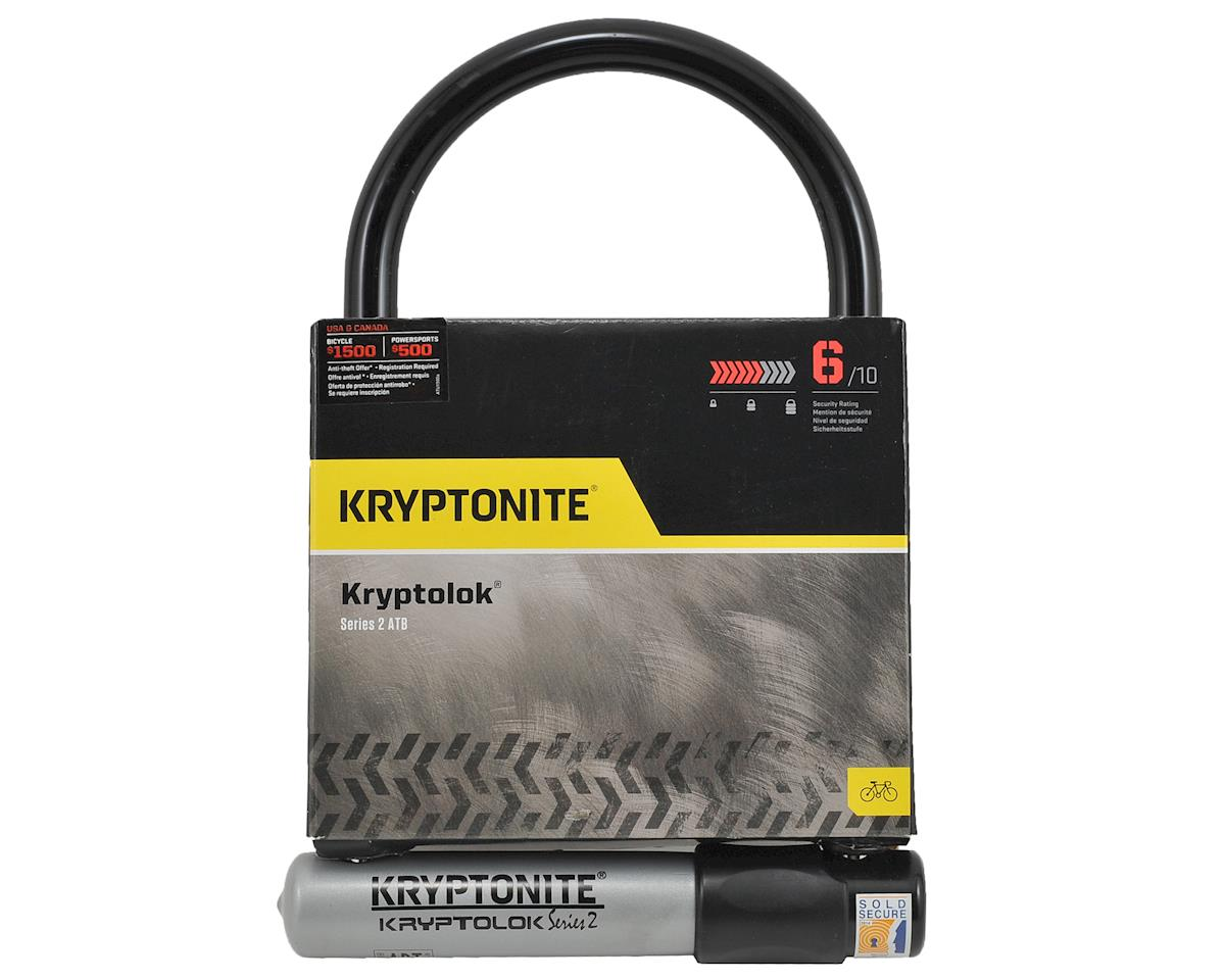 Kryptonite Kryptolok Series 2 ATB Wide U Lock w/Bracket (127x228mm)