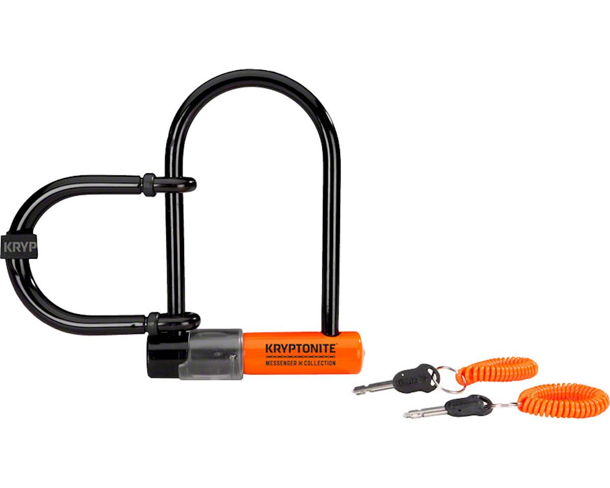 Kryptonite Messenger Mini Plus U-Lock (Black)