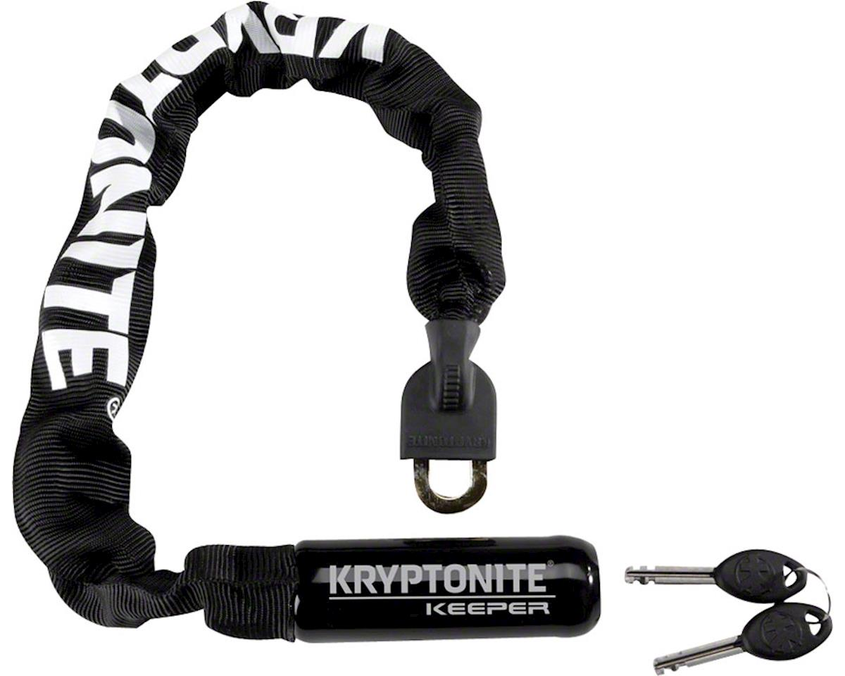 Kryptonite Keeper 785 Integrated Steel Chain Lock Keyed 7mm x 85cm Gray