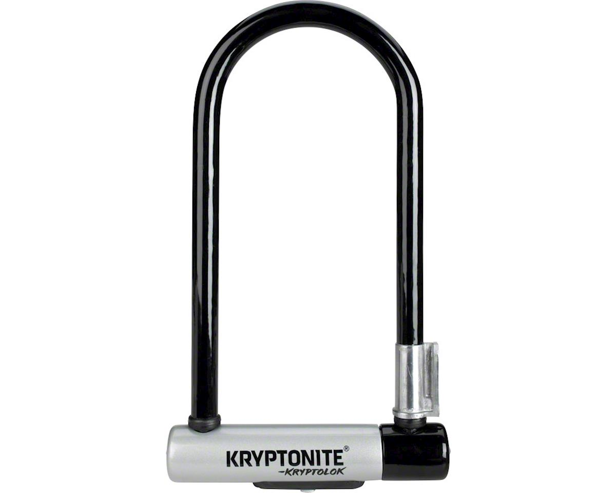 "Kryptonite KryptoLok STD U-Lock w/ Bracket (4 x 9"")"