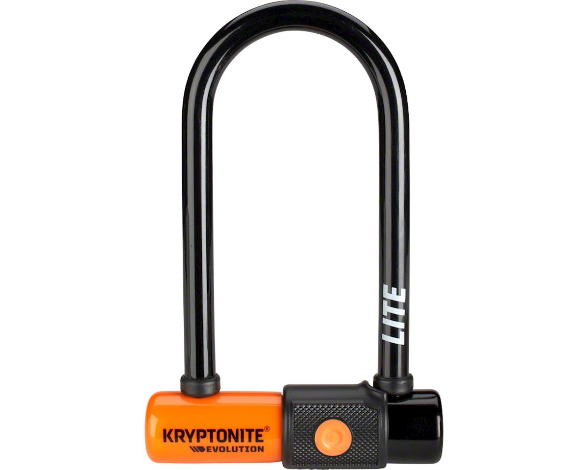 "Kryptonite Evolution Series U-Lock - 2.75 x 5.9"", Keyed, Black"