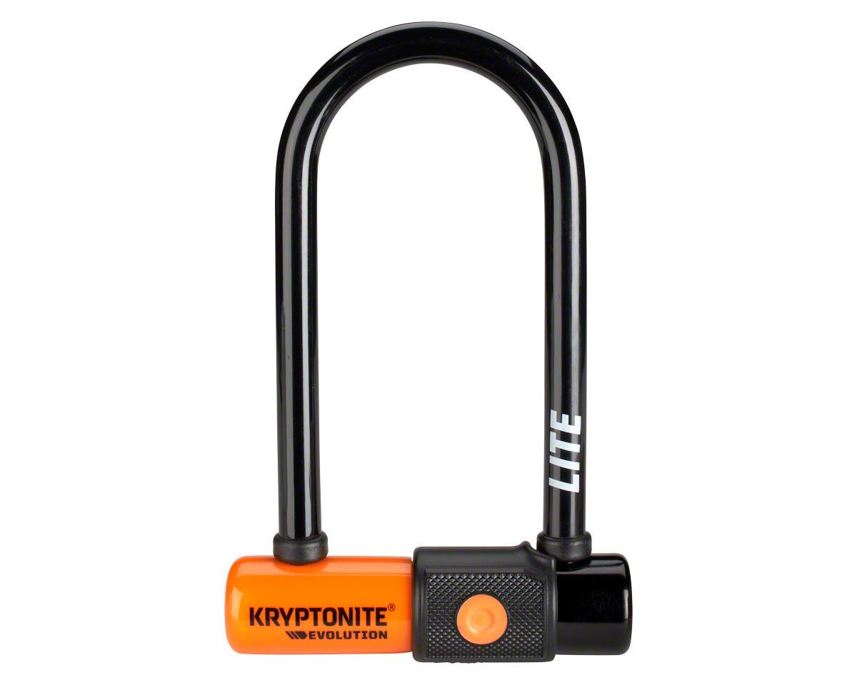 """Kryptonite Evolution Series U-Lock Keyed (2.75 x 5.9"""") (Black)"""
