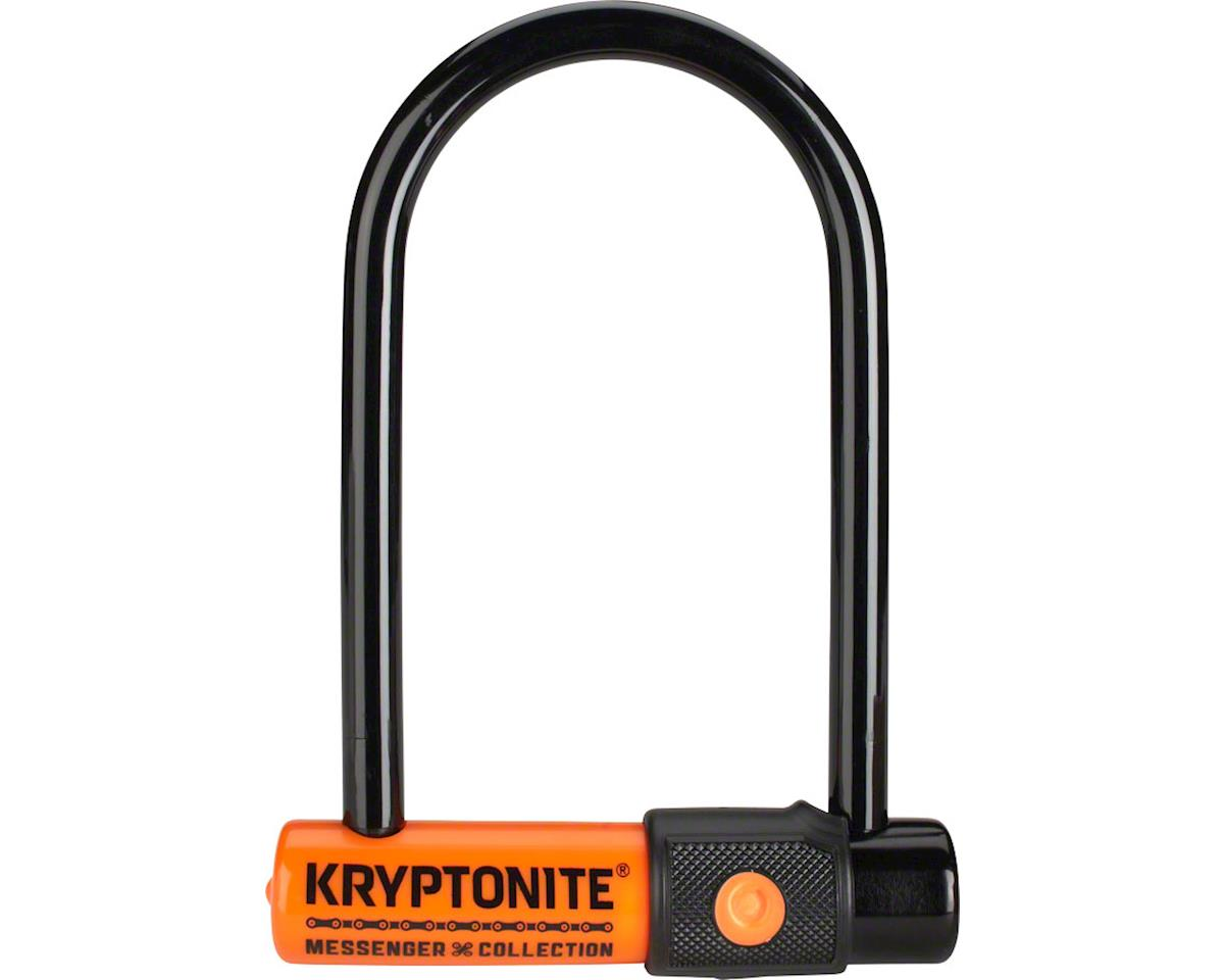 Kryptonite Messenger Mini U-Lock: Black
