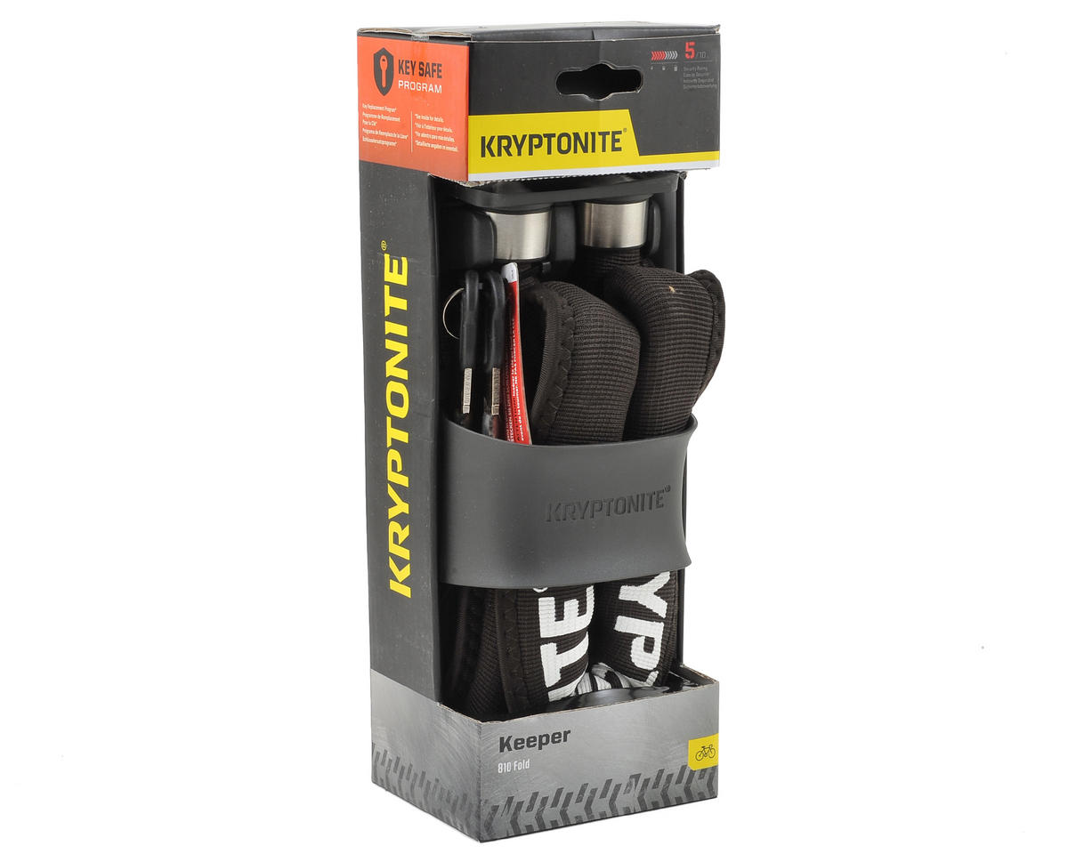 Kryptonite Keeper 810 Foldable Bike Lock