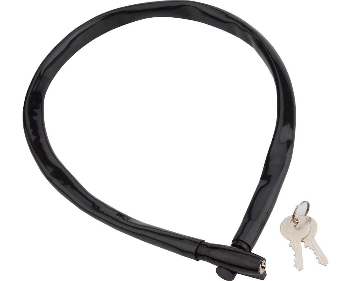 Kryptonite Keeper 665 Cable Lock w/ Key (Black) (2.13' x 6mm)