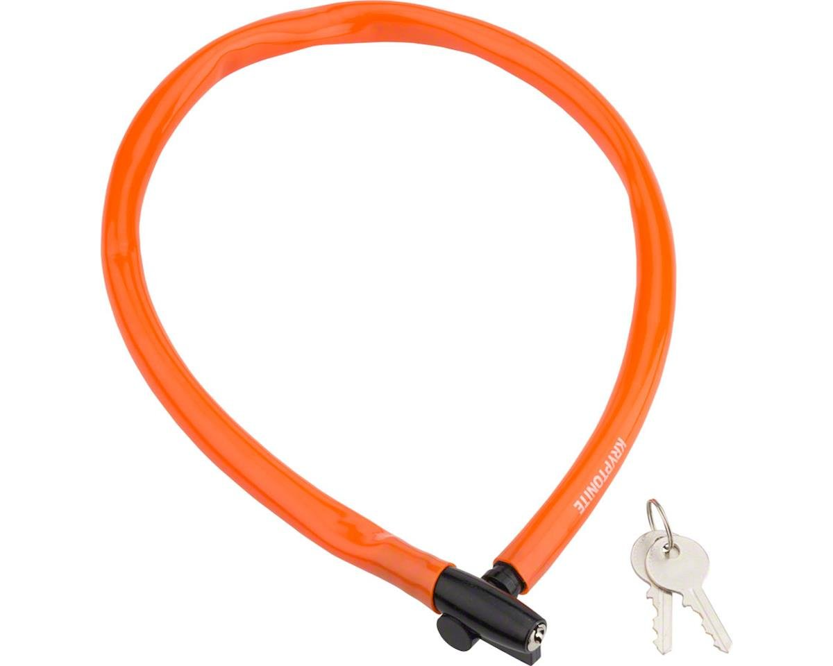Kryptonite Keeper 665 Cable Lock w/ Key (Orange) (2.13' x 6mm)