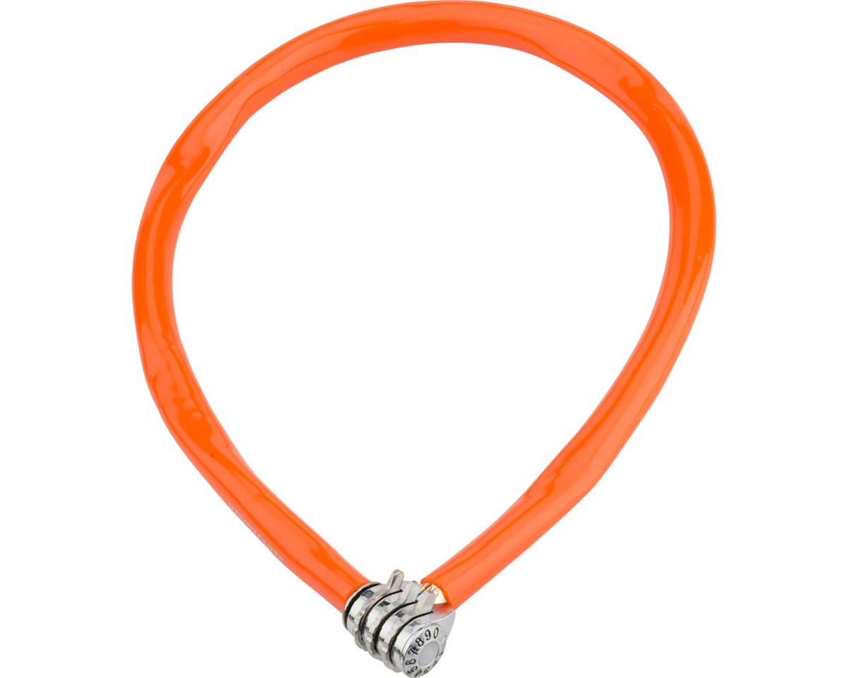 Kryptonite Keeper 665 Cable Lock w/ 3-Digit Combo (Orange) (2.13' x 6mm)
