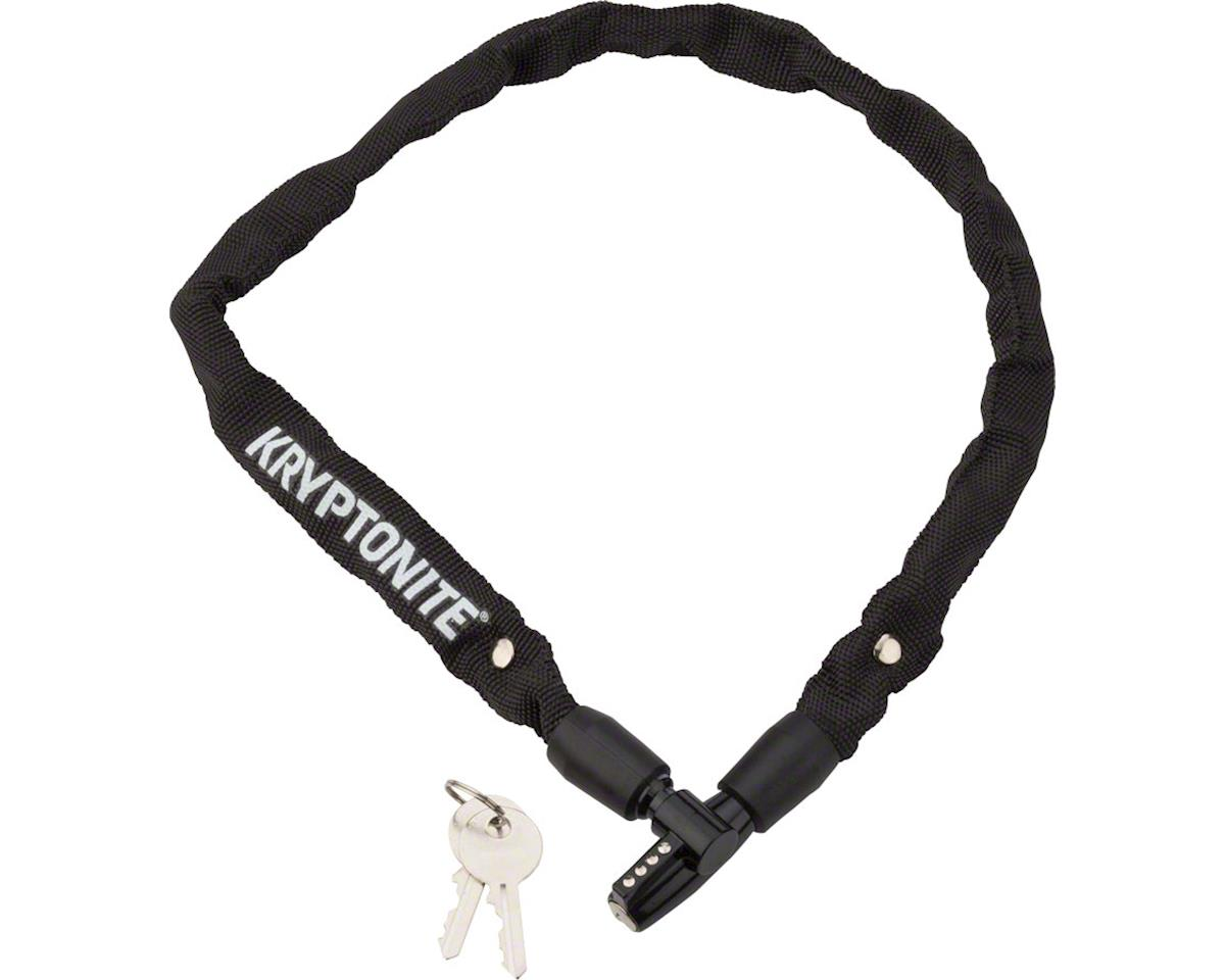 Kryptonite Keeper 465 Chain Lock w/ Key (Black) (2.13' x 4mm)