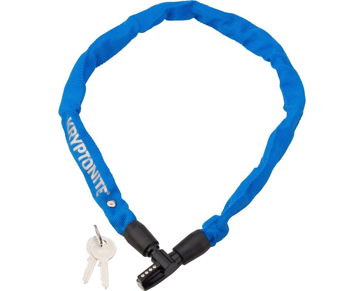 Kryptonite Keeper 465 Chain Lock w/ Key (Blue) (2.13' x 4mm)