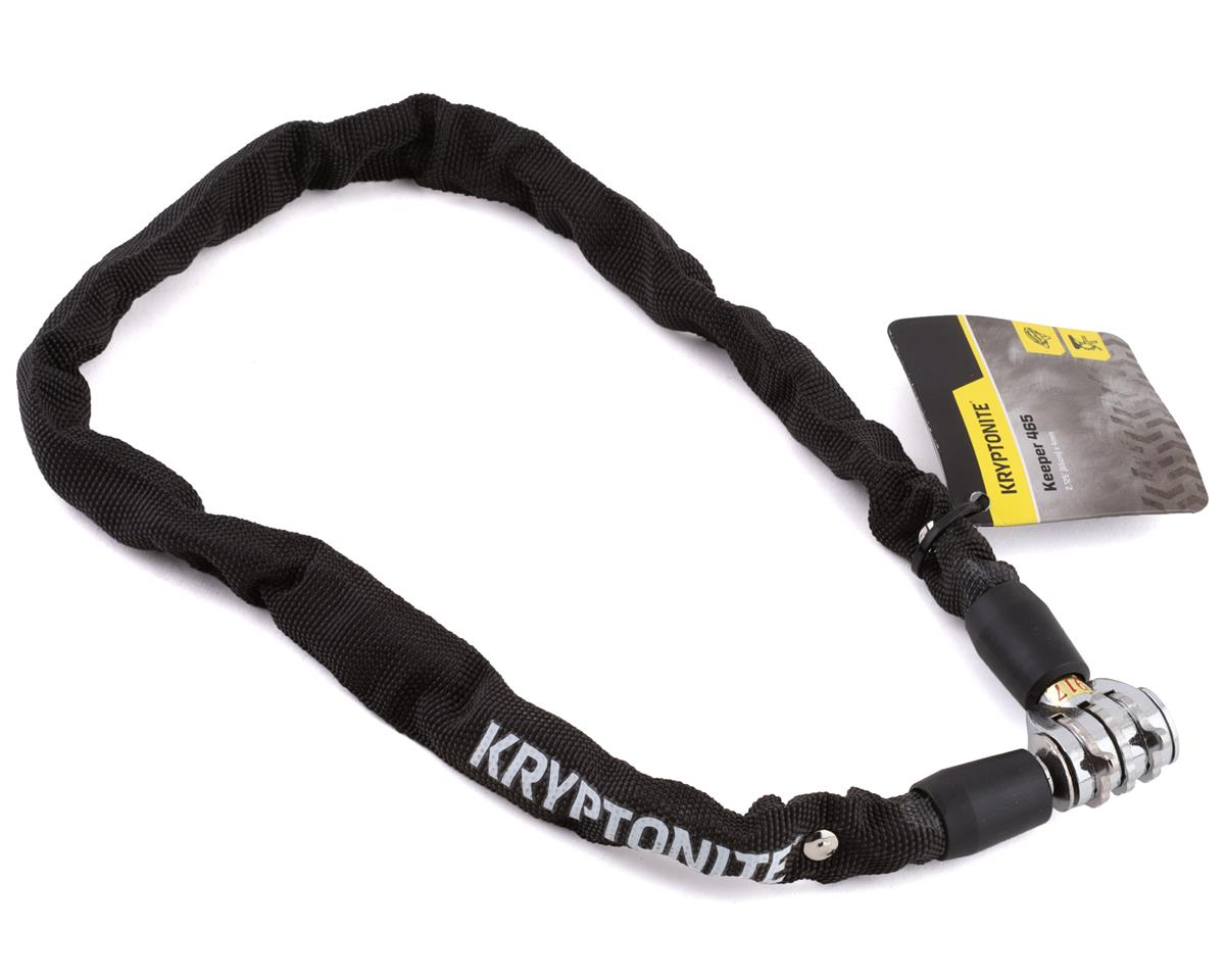 Kryptonite Keeper 465 Chain Lock w/ 3-Digit Combo (Black) (2.13' x 4mm)