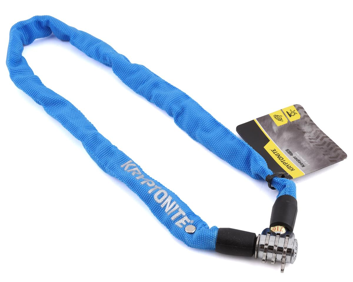 Kryptonite Keeper 465 Chain Lock w/ 3-Digit Combo (Blue) (2.13' x 4mm)