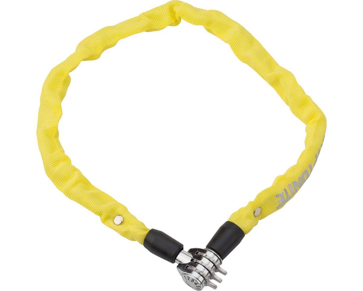 Kryptonite Keeper 465 Chain Lock w/ 3-Digit Combo (Yellow) (2.13' x 4mm)