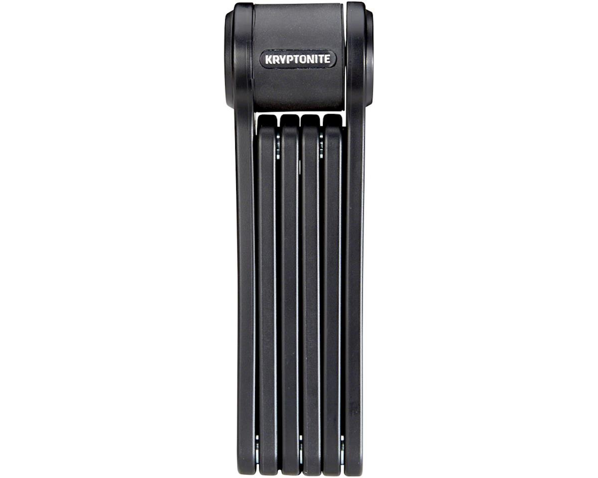 Kryptonite Keeper 585 Folding Lock: Black, 85cm, 3mm