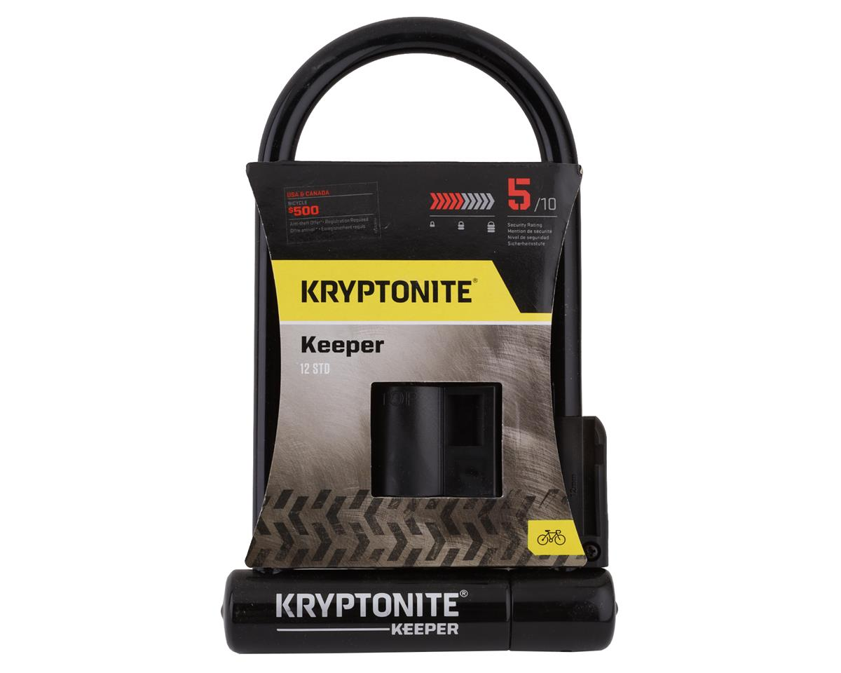 Kryptonite Keeper 12 Standard U-Lock: 4 x 8""