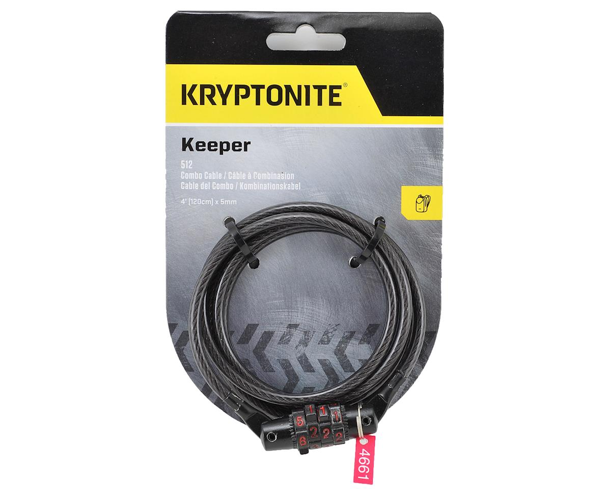 Kryptonite Kryptoflex Keeper 512 4-Digit Combo Cable Lock: 4' X 5mm