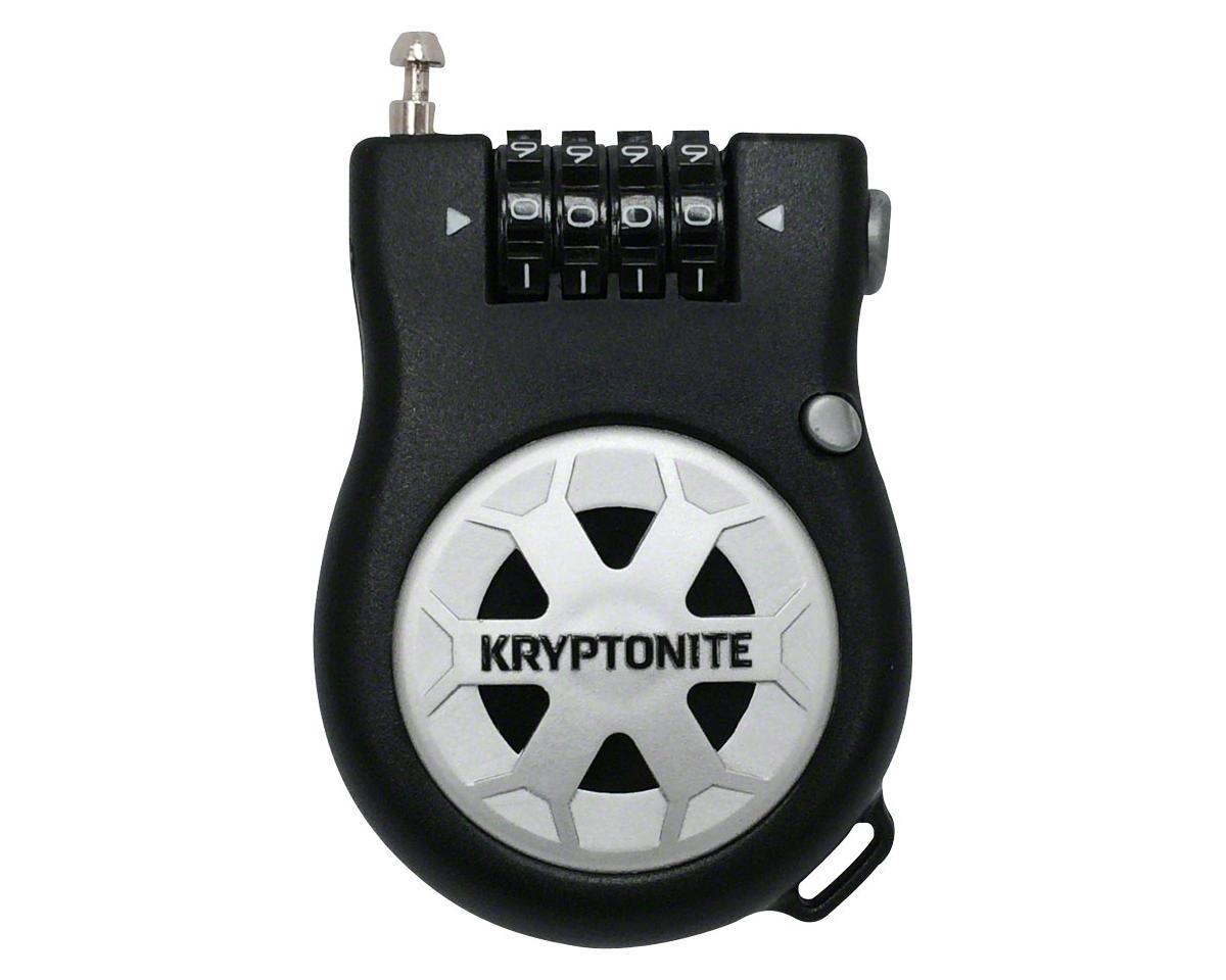 Kryptonite R-2 Retractable Combo Cable Lock (3') (90cm)
