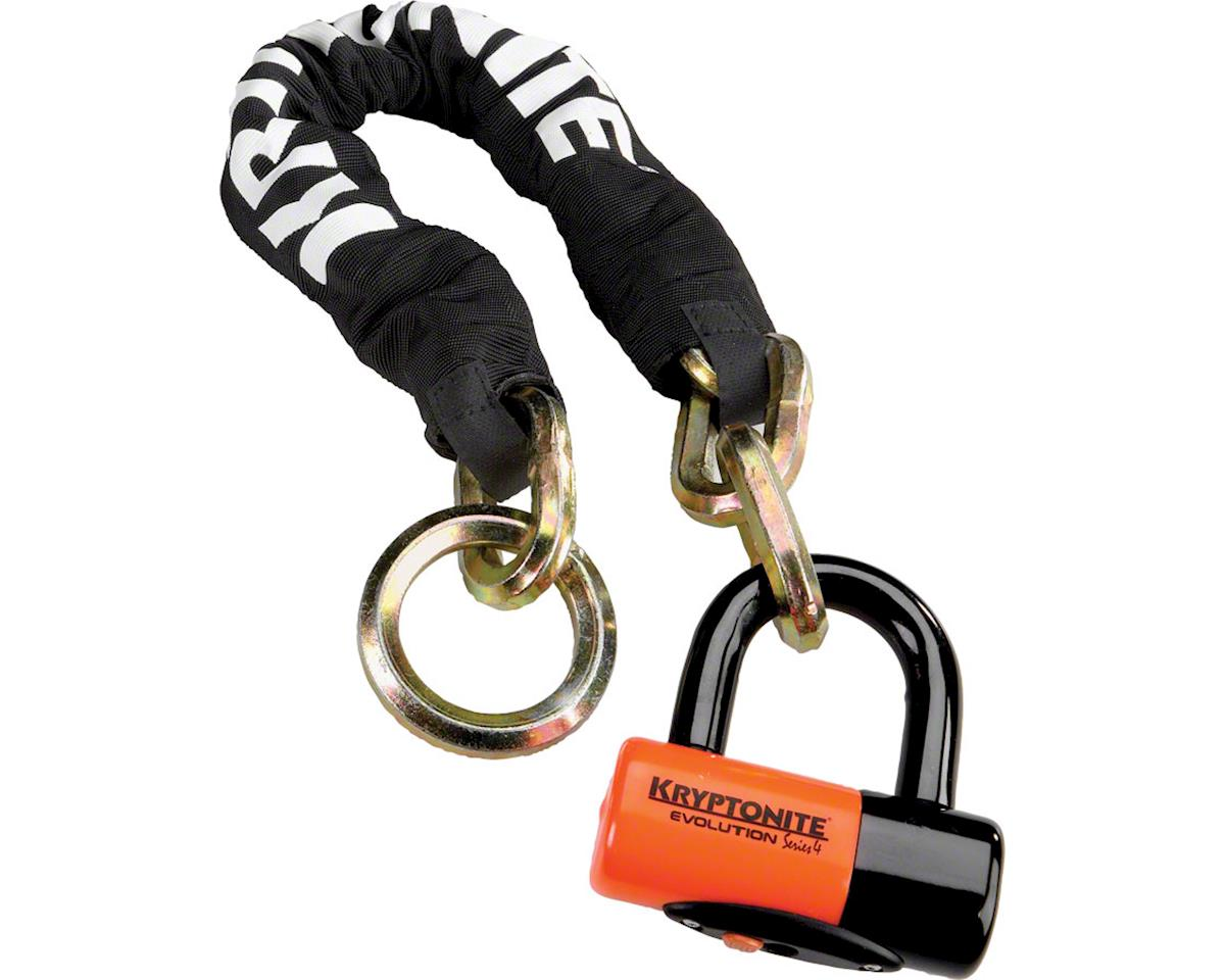 Kryptonite New York Noose Chain 1275 and Evolution Disc Lock (70cm/2.5')