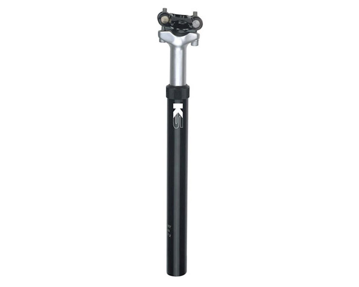 KS ExaForm KSP540 Suspension Post (Black/Silver) (27.2 x 350mm)