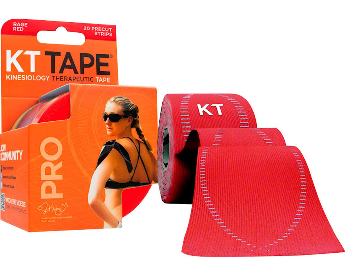 Kt Tape Pro Kinesiology Therapeutic Body Tape (Red) (20 Strips/Roll)